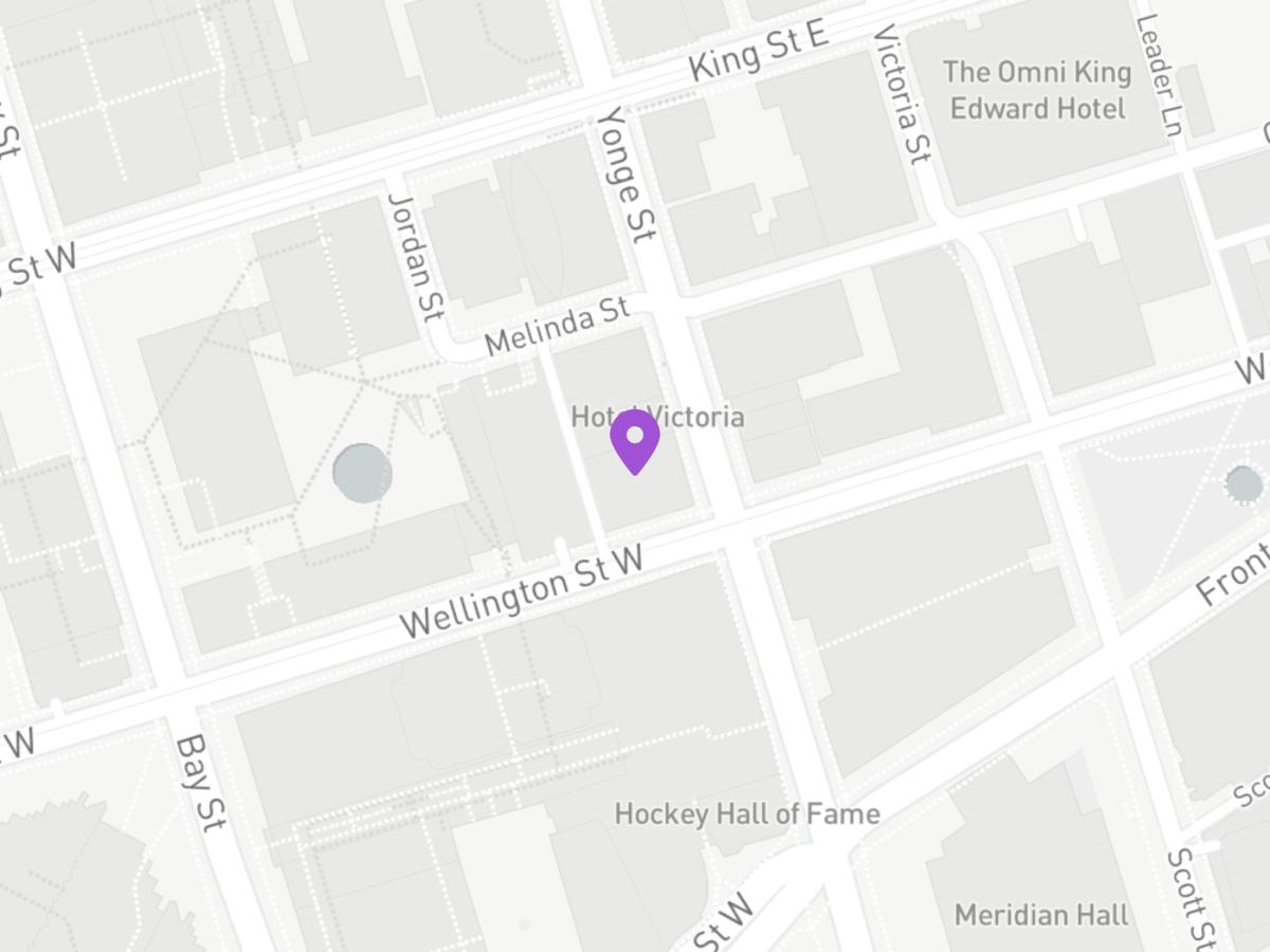 Map of 48 Yonge Street
