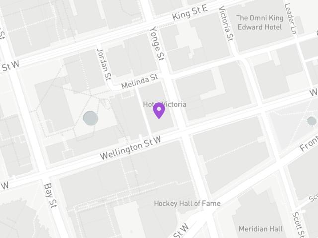 Map of 48 Yonge Street, Toronto