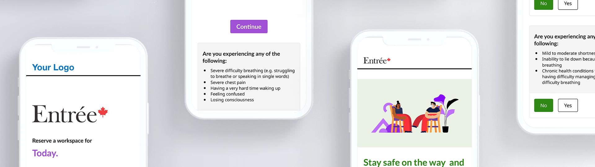 Entree app