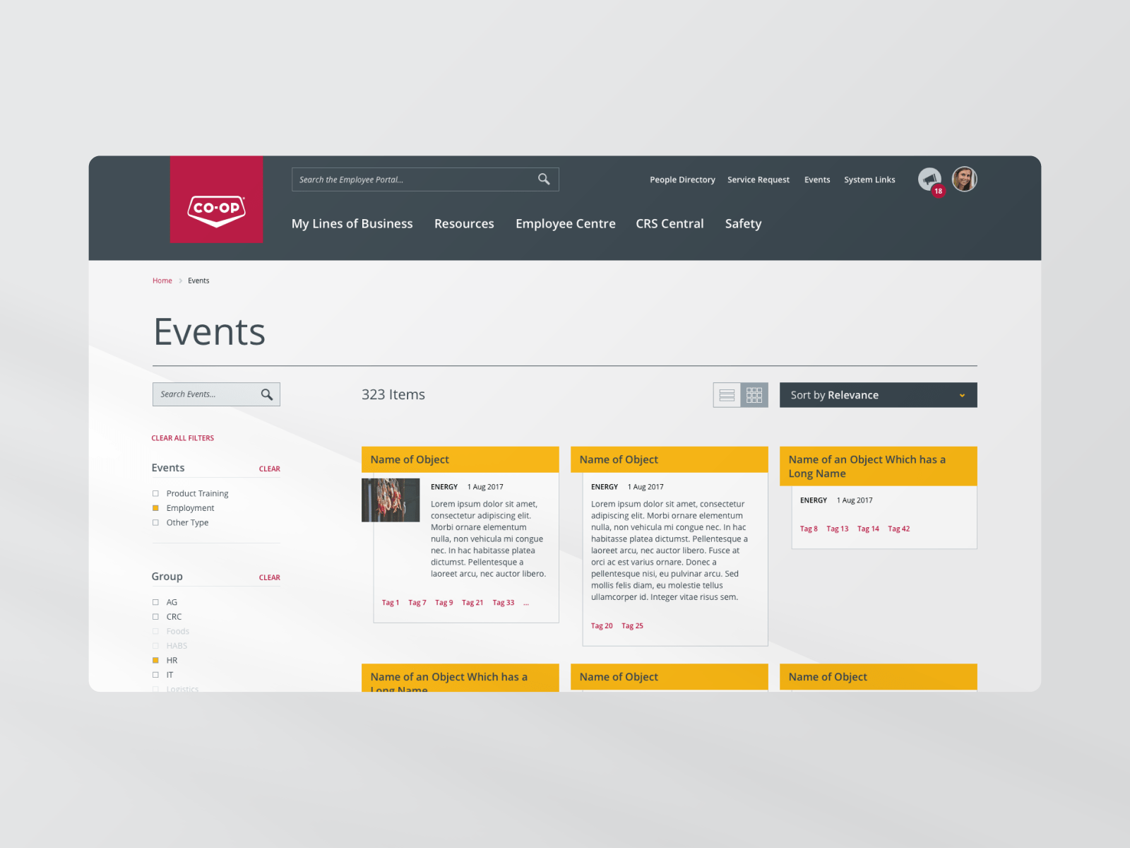 FCL Hub events webpage